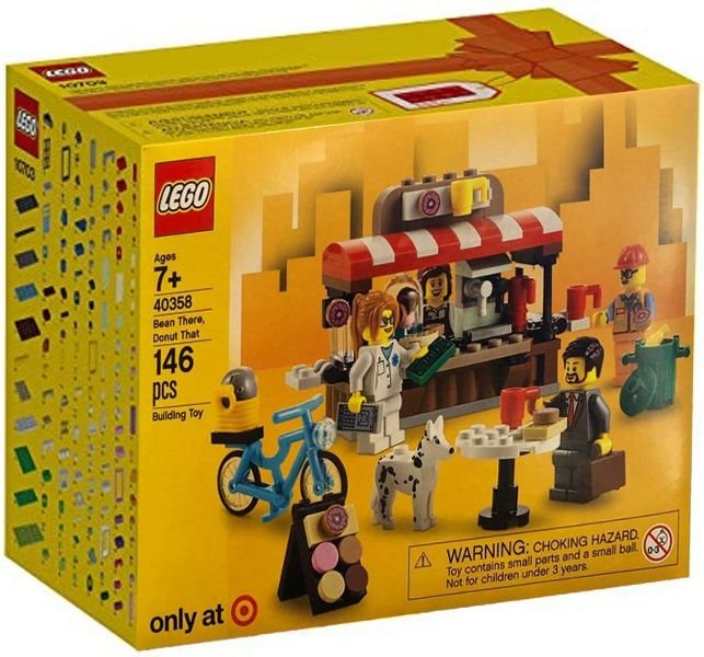 LEGO EXCLUSIVO 40358 BEAN THERE, DONUT THAT