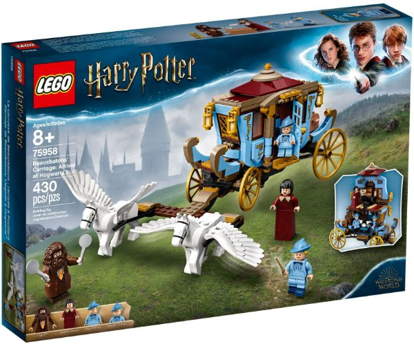 LEGO HARRY POTTER 75958 BEAUXBATONS CARRIAGE: ARRIVAL AT HOGWARTS