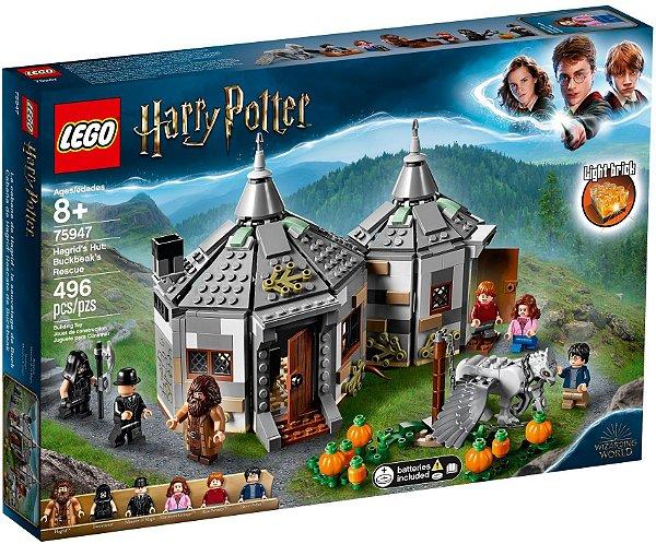 LEGO HARRY POTTER 75947 HAGRIDS HUT: BUCKBEAKS RESCUE