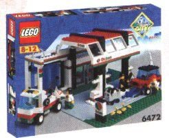 LEGO CITY 6472 GAS N' WASH EXPRESS