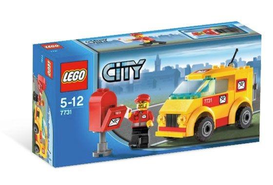 LEGO CITY 7731 MAIL VAN