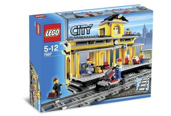 LEGO CITY 7997 TRAIN STATION