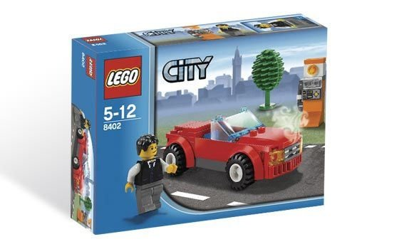 LEGO CITY 8402 SPORTS CAR