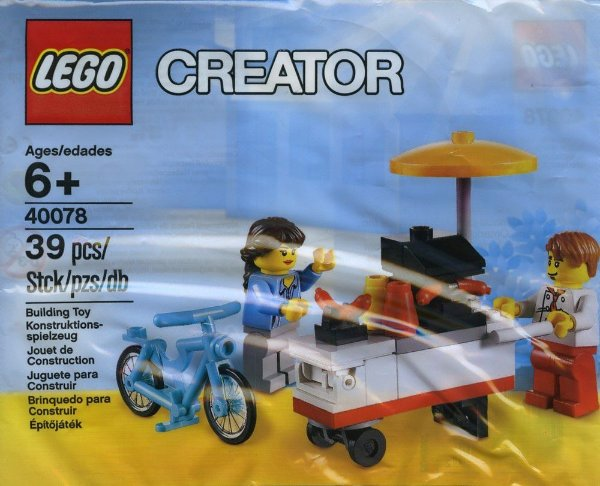 LEGO CREATOR 40078 HOT DOG STAND