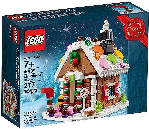 LEGO EXCLUSIVOS 40139 GINGERBREAD HOUSE