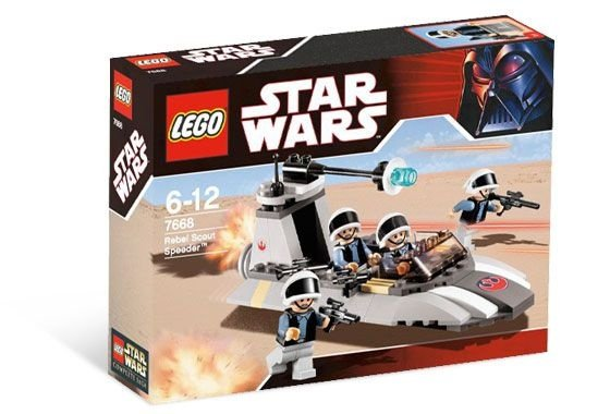 LEGO STAR WARS 7668 REBEL SCOUT SPEEDER