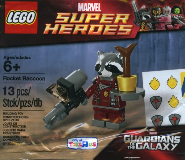LEGO SUPER HEROES 5002145 ROCKET RACCOON