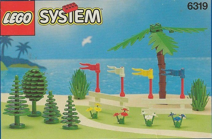 LEGO SYSTEM 6319 TREES AND FENCES