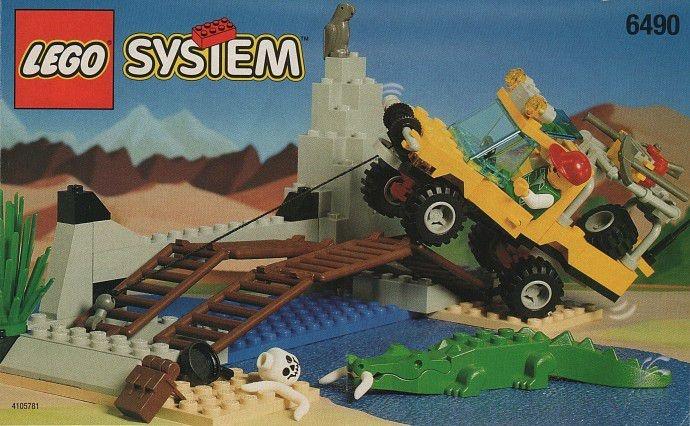 LEGO SYSTEM 6490 AMAZON CROSSING