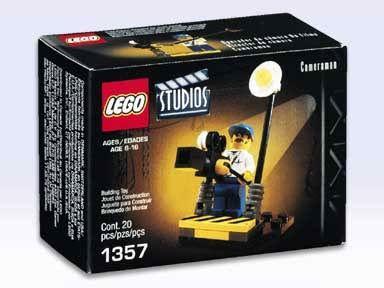 LEGO STUDIOS 1357 CAMERAMAN