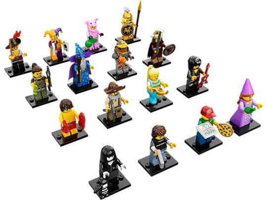LEGO MINIFIGURES 71007 SERIE 12 (COLEÇÃO COMPLETA)