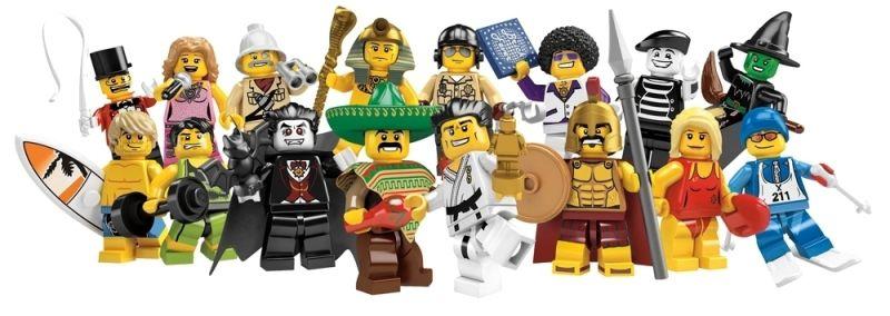 LEGO MINIFIGURES 8684 SERIE 2 (COLEÇÃO COMPLETA)