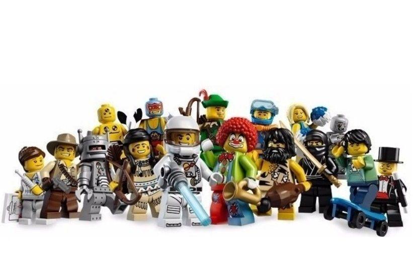 LEGO MINIFIGURES 8683 SERIE 1 (COLEÇÃO COMPLETA)