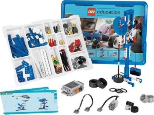 LEGO EDUCATION 9686 SIMPLE & MOTORIZED MACHINES SET