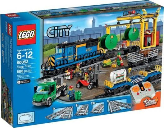 LEGO TRAINS 60052 CARGO TRAIN