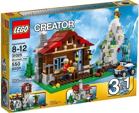 LEGO CREATOR 31025 MOUNTAIN HUT