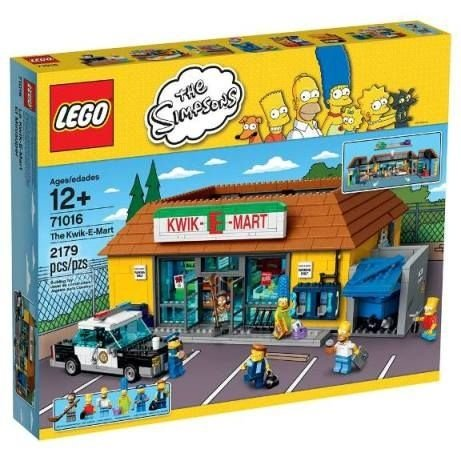 LEGO SIMPSONS 71016 LOJA DE CONVENIENCIAS KWIK-E-MART