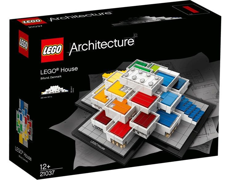 LEGO ARCHITECTURE 21037 LEGO HOUSE BILLUND DENMARK