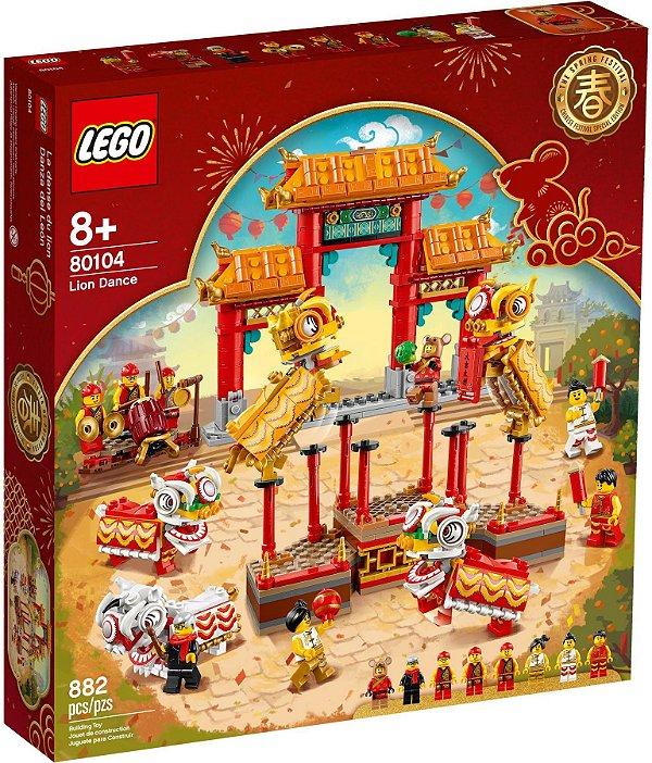 LEGO EXCLUSIVOS 80104 LION DANCE