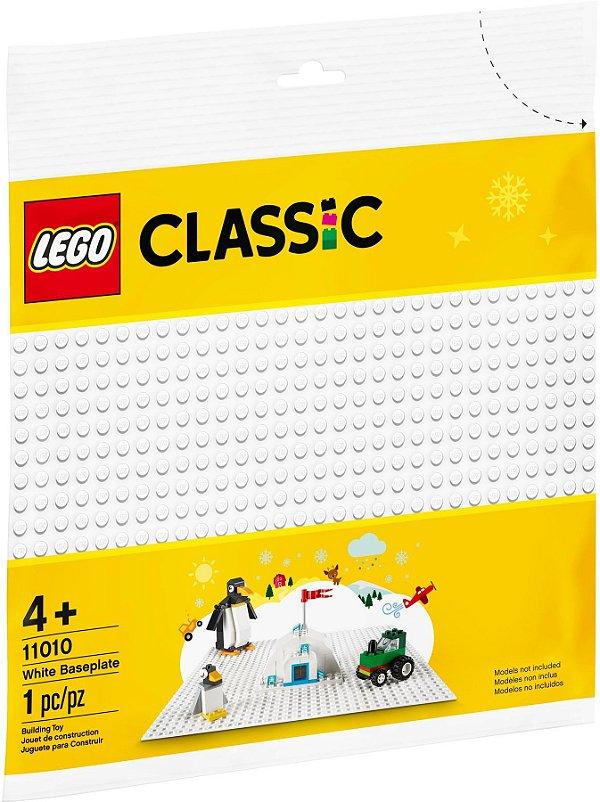 LEGO CREATOR 11010 BASE BRANCA 32X32 PONTOS