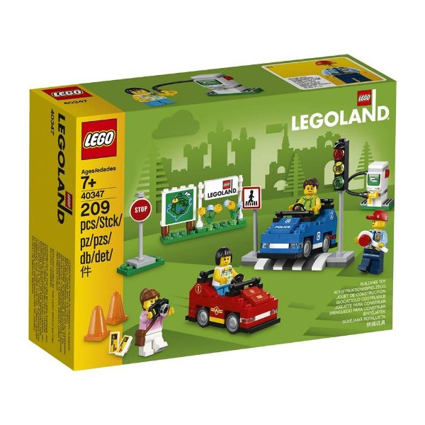 LEGO EXCLUSIVOS 40347 LEGOLAND DRIVING SCHOOL