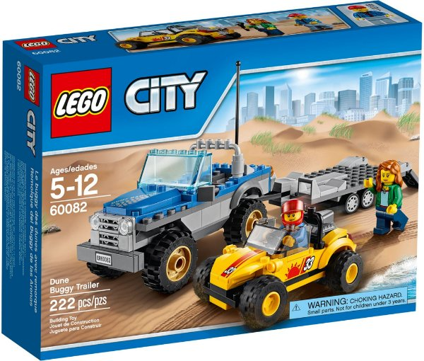 LEGO CITY 60082 DUNE BUGGY TRAILER