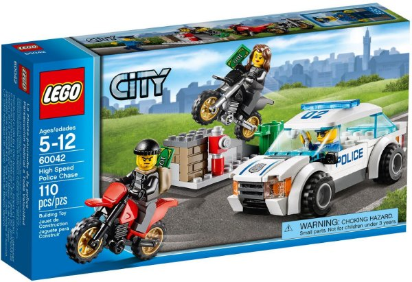 LEGO CITY 60042 HIGH SPEED POLICE CHASE