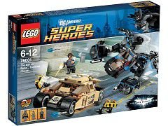 LEGO SUPER HEROES 76001 THE BAT VS BANE TUMBLER CHASE