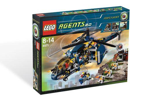 LEGO AGENTS 8971 AERIAL DEFENSE UNIT