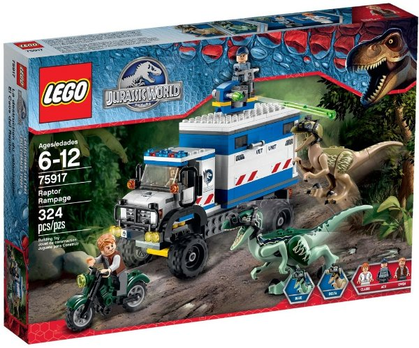 LEGO JURASSIC WORLD 75917 RAPTOR RAMPAGE