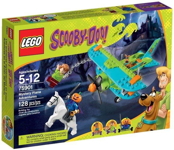 LEGO SCOOBY DOO 75901 MYSTERY PLANE ADVENTURES