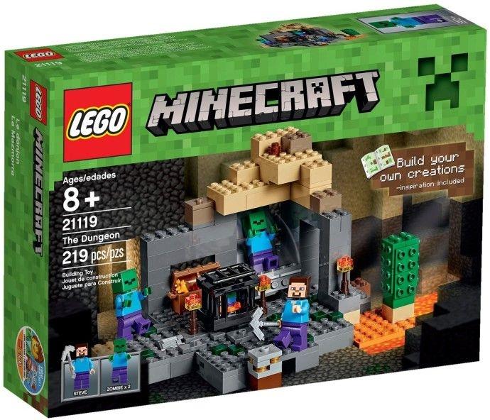 LEGO MINECRAFT 21119 O CALABOUÇO