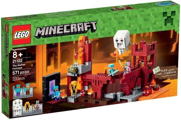 LEGO MINECRAFT 21122 FORTALEZA DO NETHER