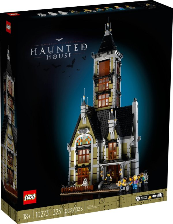 LEGO CREATOR EXPERT 10273 HAUNTED HOUSE