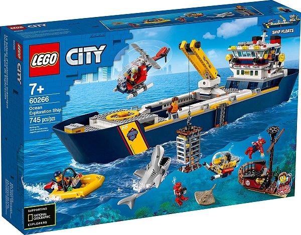 LEGO CITY 60266 OCEAN EXPLORATION SHIP