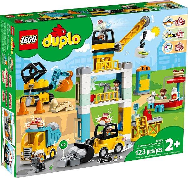 LEGO DUPLO 10933 TOWER CRANE & CONSTRUCTION