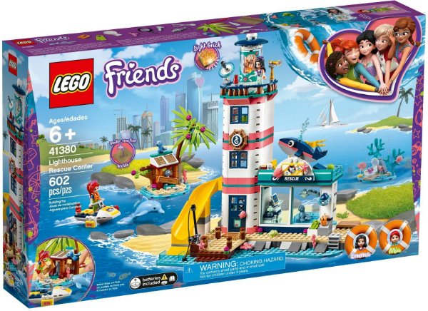 LEGO FRIENDS 41380 LIGHTHOUSE RESCUE CENTRE