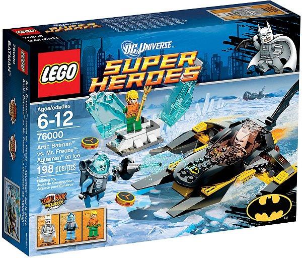 LEGO SUPER HEROES 76000 ARCTIC BATMAN vs. MR. FREEZE: AQUAMAN ON ICE