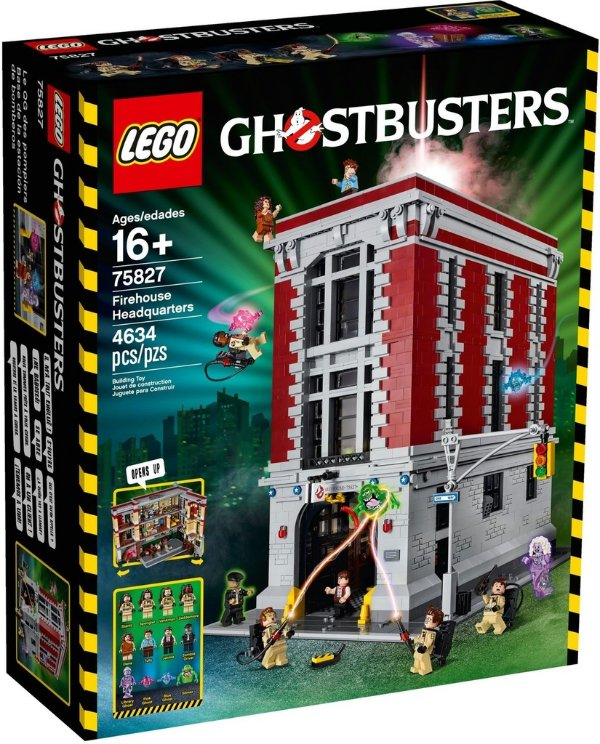 LEGO CAÇA FANTASMAS 75827 QUARTEL GENERAL