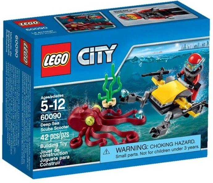 LEGO CITY 60090 DEEP SEA SCUBA SCOOTER