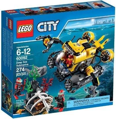 LEGO CITY 60092 DEEP SEA SUBMARINE