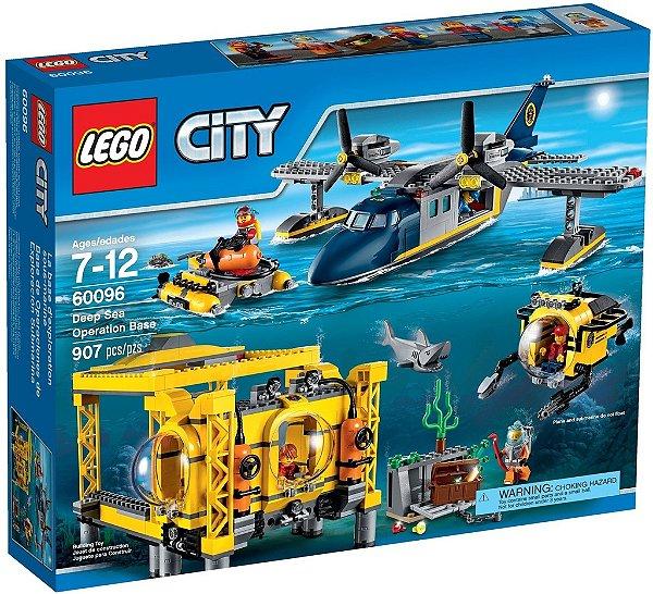 LEGO CITY 60096 DEEP SEA OPERATION BASE (Edição Limitada)