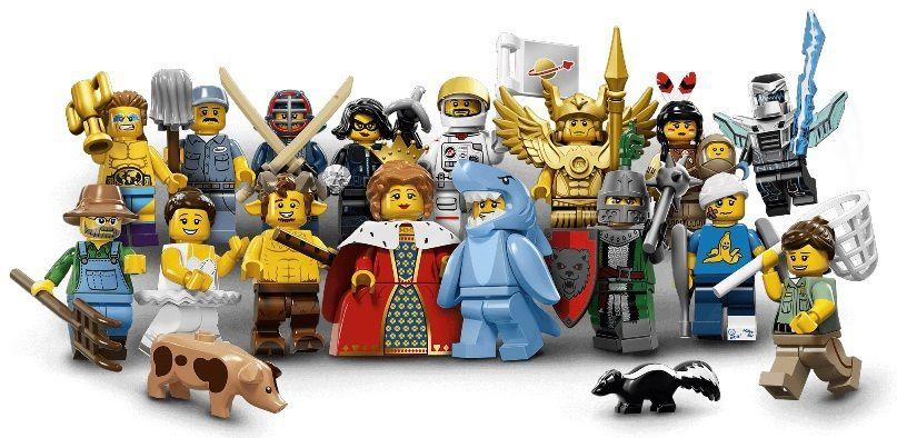 LEGO MINIFIGURES 71011 SERIE 15 (COLEÇÃO COMPLETA)