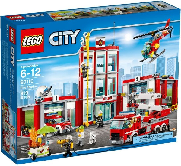 LEGO CITY 60110 FIRE STATION