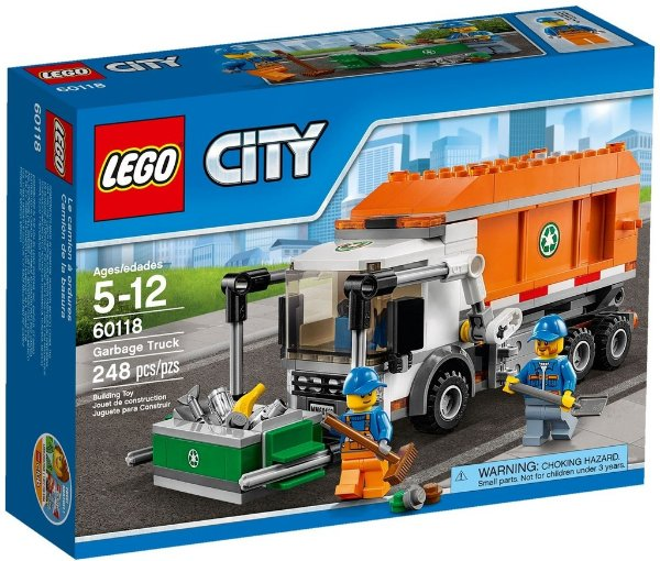 LEGO CITY 60118 GARBAGE TRUCK