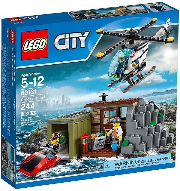 LEGO CITY 60131 CROOKS ISLAND(Edição Limitada)