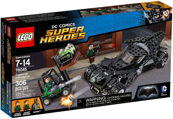 LEGO SUPER HEROES 76045 KRYPTONITE INTERCEPTION