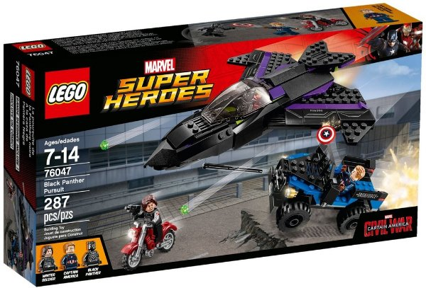 LEGO SUPER HEROES 76047 BLACK PANTHER PURSUIT