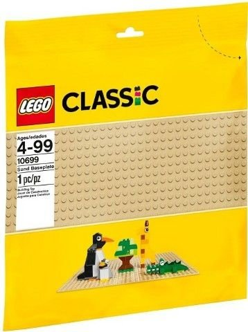 LEGO CREATOR 10699 BASE AREIA 32X32 PONTOS