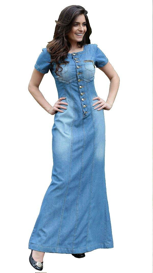 DJV303 - Vestido Jeans - Damaris